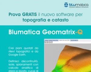 Prova il nuovo software per topografia e catasto