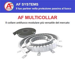 Il collare antifuoco modulare più versatile del mercato – AF MULTICOLLAR