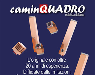 Scegli Caminquadro: il sistema di canne fumarie per edifici di pregio