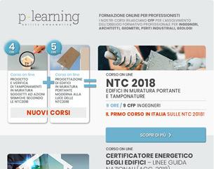 Nuovi Corsi Accreditati: NTC 2018, Certificatore Energetico, Revit