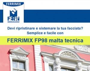 Ferrimix FP98: rifai il look alla tua casa!