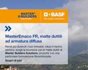 Riduci il rischio sismico con le malte duttili di Master Builders Solutions