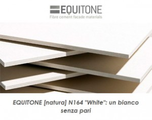 Scopri EQUITONE White: la facciata si veste di bianco