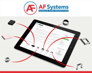 I prodotti della gamma AF Systems disponibili su BIMobject