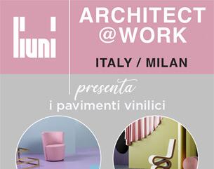 Liuni vi aspetta ad Architect@Work Milano