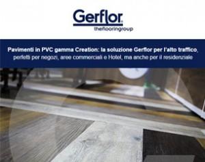 Gerflor: la rivoluzione dei pavimenti vinilici per aree commerciali e residenziali