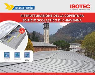 Isotec e metallo per la scuola di Chiavenna