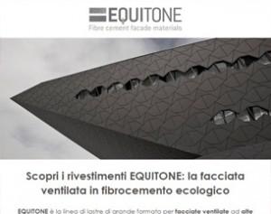 EQUITONE: facciata ventilata in fibrocemento ecologico
