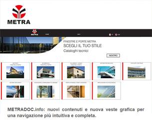 METRAdoc.info: documentazione integrata e nuova veste grafica