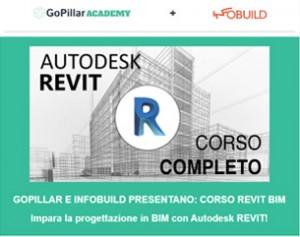 Infobuild + GoPillar Academy: Corso BIM Online con Autodesk Revit