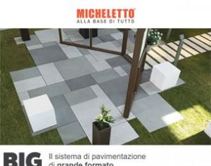 BIG Il sistema di pavimentazione di grande formato