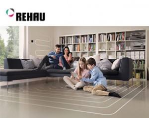 La regolazione della temperatura smart di REHAU