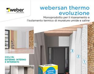 webersan thermo evoluzione: risanamento e isolamento termico di murature umide