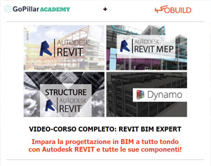 Infobuild + GoPillar Academy: Corso Revit BIM Specialist