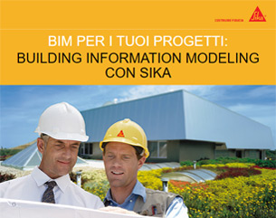 Building information modeling con Sika