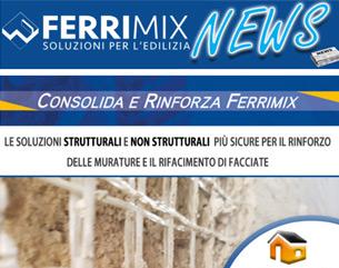 Ferrimix e il bonus casa 2020: soluzioni tecniche