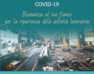 Ecco le soluzioni Blumatica per il COVID