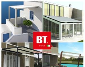 Le nuove PERGOZIP firmate BT Group per un outdoor experience unica