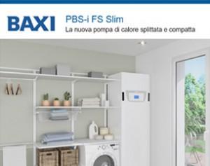 PBS-i FS Slim: la nuova pompa di calore Baxi splittata e compatta