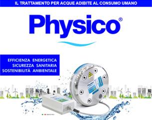 Physico: il trattamento per acque adibite al consumo umano