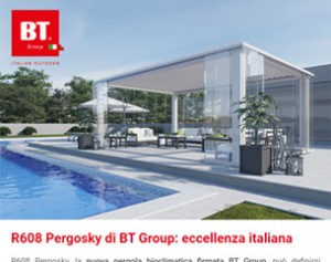 R608 Pergosky di BT Group: eccellenza italiana