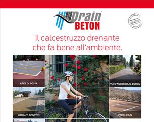 DrainBeton: calcestruzzo per pavimentazioni drenanti