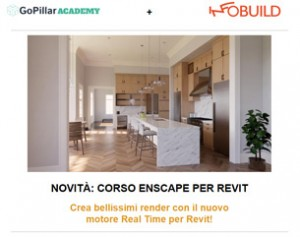 Corso di Enscape Render per Revit a 99€