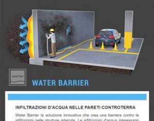 Water Barrier: una barriera contro le infiltrazioni nelle strutture interrate