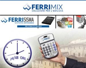 SismaCoat PreStima, il nuovo software di calcolo Ferrimix