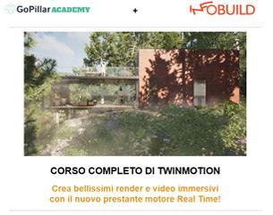 Novità: Corso Archicad + Twinmotion a 149€