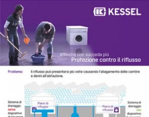 Sistemi di pompaggio antiriflusso e di sollevamento ibrido KESSEL