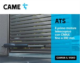 CAME presenta ATS, il motore telescopico universale