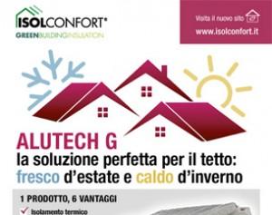 Per l'isolamento del tuo tetto scegli Alutech G di Isolconfort