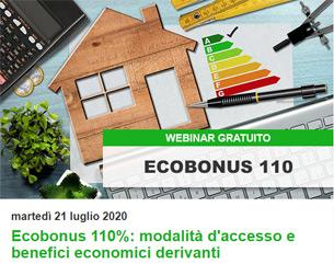 Partecipa alla Giornata Tematica Ecobonus 110