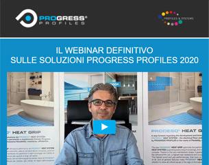 Webinar: Le membrane e le soluzioni Progress Profiles 2020