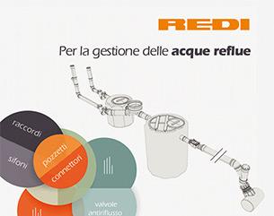 Scegli il sistema fognario di Redi, specialisti dell'acqua dal 1960