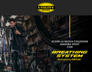 Scopri l'esclusiva collezione Breathing System di Diadora Utility