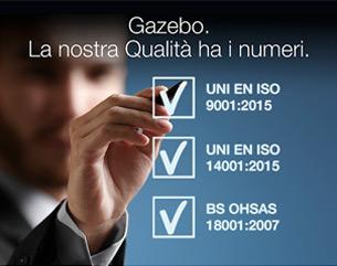 Qualità Certificata per i Tuoi Progetti: scopri i Numeri Gazebo