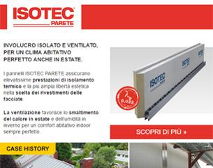 Isolamento e ventilazione per riqualificare l'involucro: ISOTEC PARETE
