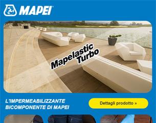 Mapelastic Turbo, l'impermeabilizzazione rapida da Mapei