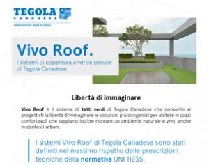 Diamo vita al tetto con VIVO ROOF, il sistema tetto verde di Tegola Canadese