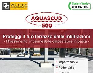Impermeabile, pedonabile, elastico: Aquascud 500 protegge il tuo terrazzo