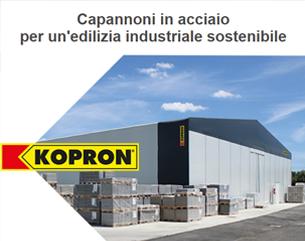 Capannoni in acciaio Kopron per un'edilizia sostenibile