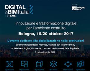 Il futuro è digitale: partecipa a Digital&Bim Italia