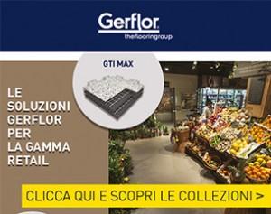GERFLOR: design e prestazioni per i pavimenti del settore Retail