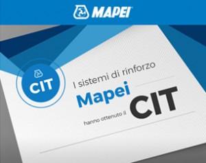 Rinforza con i sistemi Mapei certificati CIT!