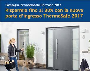 Risparmia fino al 30% con la porta d'ingresso ThermoSafe 2017 Hormann