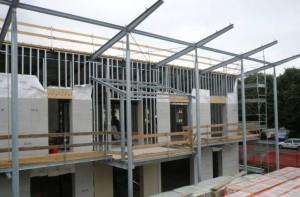 Residenze CasaClima Classe A, Stezzano (BG): la struttura