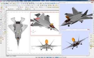 Esempio gestione disegni sfaccettati complessi e visualizzazione renderizzata