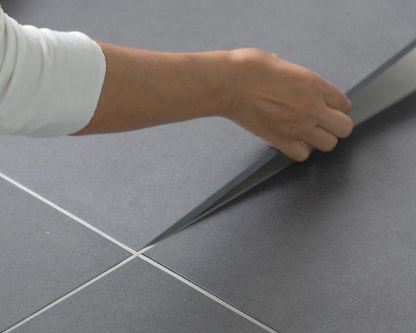 Pavimento a incastro senza colla : Instantile il sistema di posa a secco fai da te
